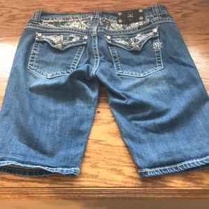 Miss Me Shorts - Miss me Bermuda shorts